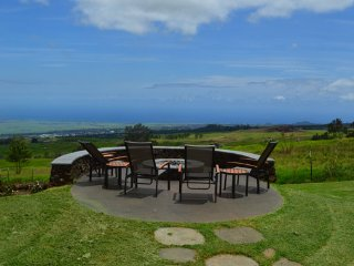 Nestled on the slopes of Haleakala with a view from coast to coast