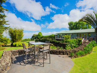 Nestled on the slopes of Haleakala with a spectacular garden setting