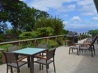 Nestled on the slopes of Haleakala with a spectacular garden setting