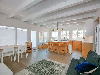 Chic 2BR/2BA Home w/ Ocean Views - 1 Block to Beach, Ideal for Corporate Stay