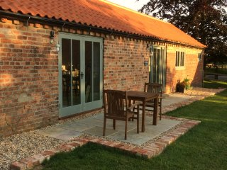 5* Gold Award Barn in the heart of the Lincolnshire Wolds for two