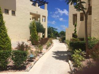 Roda Golf Resort, 2 Bedroom Spacious Apartment, Overlooks Pool in Phase 3.