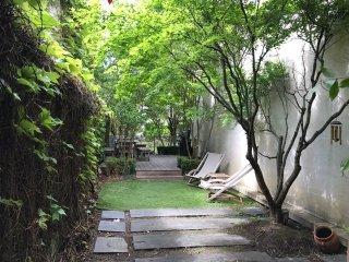 Superbe appartement avec terrasse et jardin