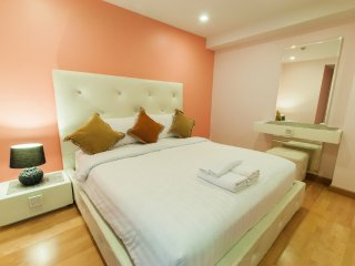 One-Bedroom Suite with SofaBed_6I Sea View Partial - Rocco HuaHin Condominium