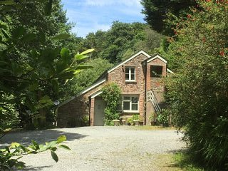 The Coach House at Lower Coombe Royal- nestled in a picturesque valley!