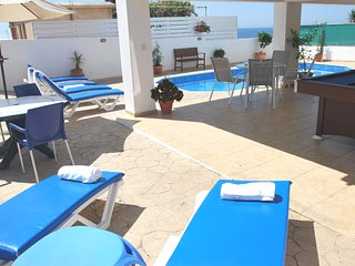 Villa ONLY 50m TO THE SEA, in an unspoiled area, sleeps 12, Polis, Paphos. OFFER