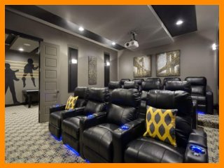 Reunion Resort 457 - villa with pool, game room and theater room near Disney