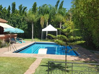 Villa La Rose Casablanca with Sauna, Private Pool and Private Yard