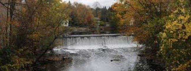 Cedarbur Creek dam