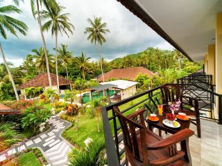 Spacious apartments, wide balconies in Candidasa