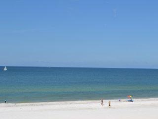 Top Floor, Great Beachfront & Oceanfront Condo On The Sand!