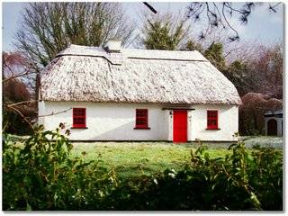 Number 2 Lough Derg Thatched Cottages