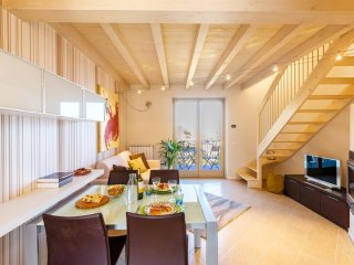 Apartment in the center of Fonteno with Terrace, Washing machine (486508)
