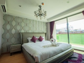 Two-Bedroom Suite with SofaBed_3I Pool View- Rocco HuaHin Condominium