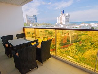 Front Sea View, Two-Bedroom Suite with Sofa Bed_7K - Rocco HuaHin Condominium