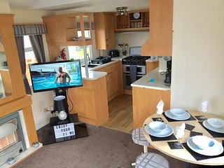 2 bedroom caravan at Whitley bay