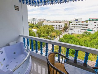Ruamchok Ocean View - 1BR Sea view, Jacuzzi