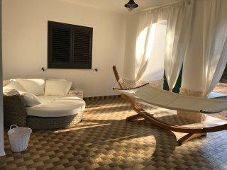 Una fresca area relax