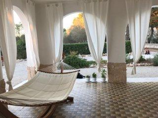 Un rilassante patio