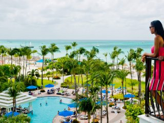 Luxury Ocean Front Villa for 8 Marriott Surf Club - Family Oasis - No Hurricanes