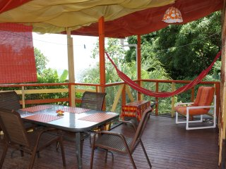 Tamarind Apartment - Castara Cottage - two bedrooms that sleep up to 4 people