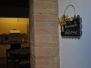 Spacious apartment in San Gimignano with Parking, Internet, Washing machine