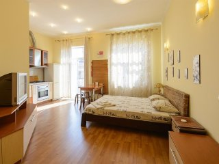 Studio apartment in the center of Kiev with Air conditioning, Lift, Washing