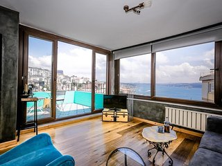 Apartment in Istanbul with Air conditioning, Terrace, Washing machine (400625)