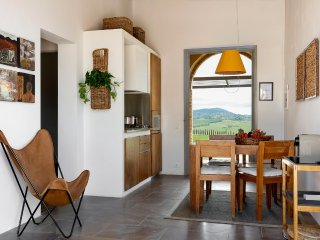 Architects apartment amid crete senese, tuscany. Il Postino