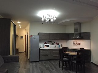 Studio apartment in the center of Dnepropetrovsk with Air conditioning, Lift