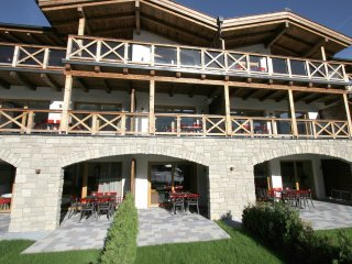 Apartment 28 m from the center of Kaprun with Internet, Lift, Balcony, Washing