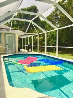 #15 luxury villa 3 bed 4 bath salt water pool sleeps 6