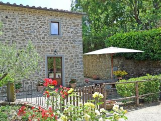 House in Cortona with Internet, Pool, Parking, Garden (348284)