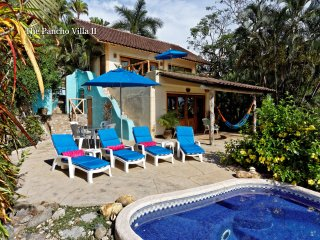 The Pancho Villa II - Ocean view home a short walk to the beach! - San Pancho
