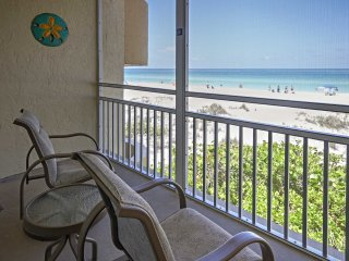 NEW! Ideal 2BR Anna Maria Island Beachfront Condo!