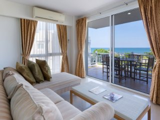 Two-Bedroom Apartment-Sea View:BDD Baan Poolom Beachfront Condominium,HuaHin