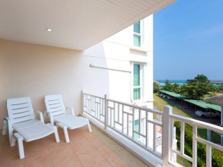 Two-Bedroom Apartment-Sea View:BCC Baan Poolom Beachfront Condominium,HuaHin