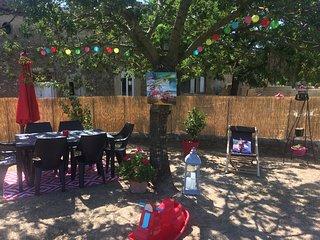 Agréable maison 8 pers avec jardin et jacuzzi en Ardéche Méridionale