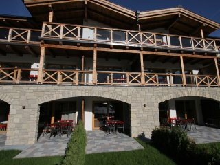 Apartment 28 m from the center of Kaprun with Internet, Lift, Parking, Terrace