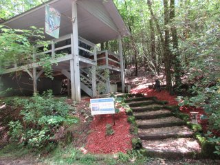 *cabin 50 Avail. weekend 8/18*Take TimeAway to Relax in the NE Georgia Mtn's.