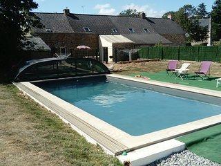 Gite de charme en Bretagne Sud avec acces piscine