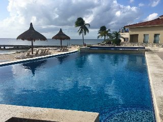Villa Paradise Cozumel Bed and Bath UPSTAIRS  Ocean View, Ocean Front Community