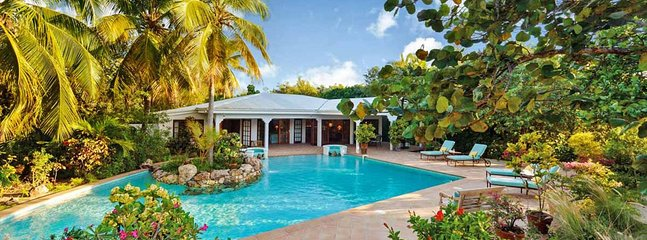 Villa Soleil Couchant 2 Bedroom (A Charming French Creole Style Cottage That