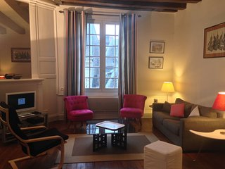 city center, charming 2 bedroom apt, quartier plumereau