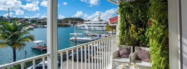 Villa Suite Harbour 2 Bedroom (In The Heart Of Gustavia, With A Wonderful View