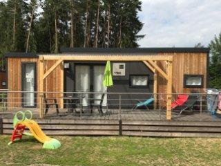 Luxurioses Ferienhaus / Mobilheim am Murner See (Bayern, Oberpfalz, Seenland)
