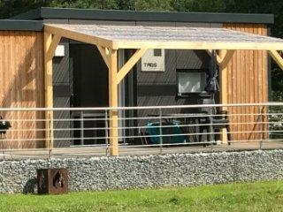 Luxurioses Mobilheim / Ferienhaus am Murner See (Bayern, Oberpfalz, Seenland)