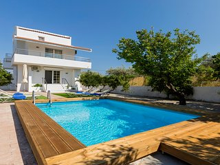 Afandou Golf Rhodes Villa with Private Pool & Fruit Garden