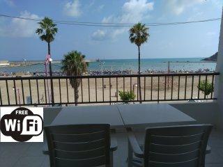 Apartamento frente a la playa