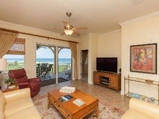 Oceanfront Corner Unit 441 In Cinnamon Beach! Impeccably Furnished!!